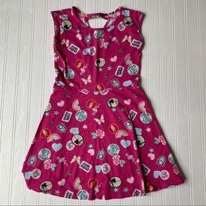The children's place pink printed dress